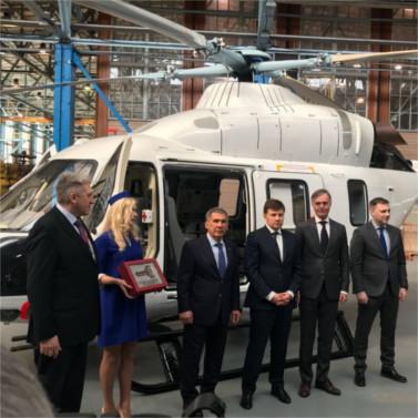 «Русские Вертолетные Системы» получили очередной вертолет «Ансат»