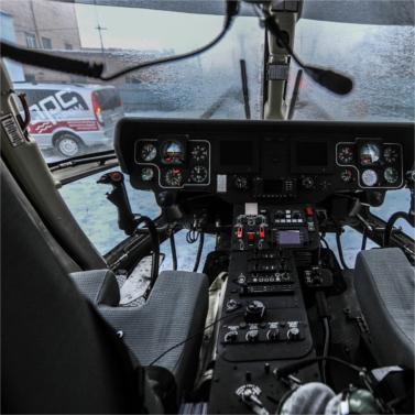 Cанитарную авиацию курганской области высоко оценили специалисты