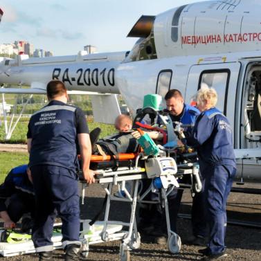 Медицинский вертолет для эвакуации больных появился вНижнем Новгороде