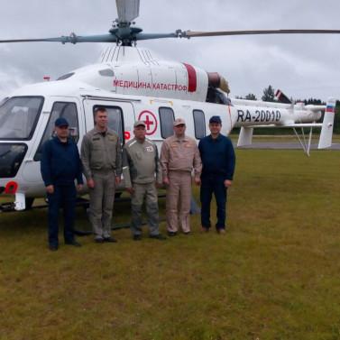 «Русские Вертолетные Системы» в Псковской области