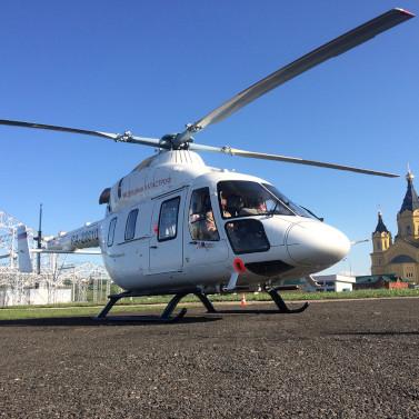 Санитарная авиация нижегородской области впериод ЧМ18