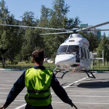 «РВС» представили медицинский «Ансат» в Челябинской области