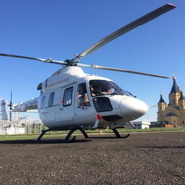 «Русские Вертолетные Системы» заступают напостоянное дежурство вНижегородской области