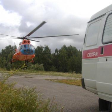 Томская санавиация сначала года эвакуировала более 500 сельчан