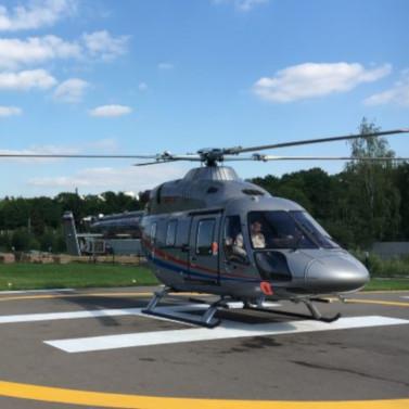 Впервую неделю работы вПодмосковье «Русские Вертолетные Системы» эвакуировали 9пациентов