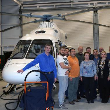 Набазе «Русских Вертолетных Систем» прошел очередной тренинг для региональных специалистов ВЦМК «Защита»