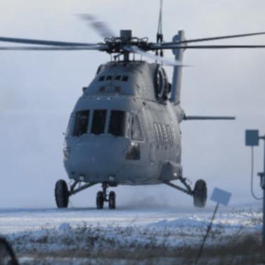 Вертолет МИ-38Т совершил первый полет