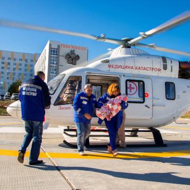 Задва года вертолет санавиации спас жизни 500 волгоградцев