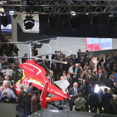 Выставка HeliRussia 2019 заполнена на 75%