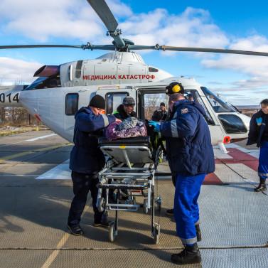 Санавиация спасла жизни 131 жителя Псковской области в2018 году