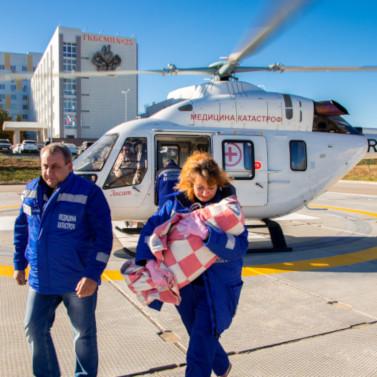 В2018 году вертолет санитарной авиации Волгограда доставил 309 человек