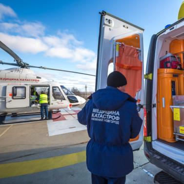 «Русские Вертолетные Системы» эвакуировали 2000 пациентов