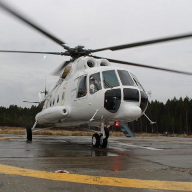 «Русские Вертолетные Системы» заступили надежурство вМагаданской области иэвакуировали первых пострадавших