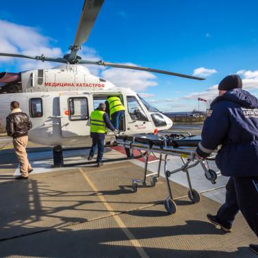 Санавиация сначала года эвакуировала более 500 жителей сел Томской области