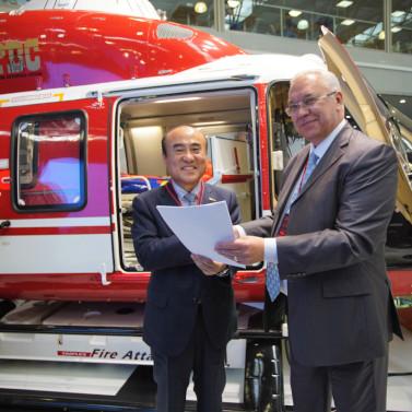 «Русские Вертолетные Системы» и южнокорейская Sharp Aviation подписали меморандум о намерениях