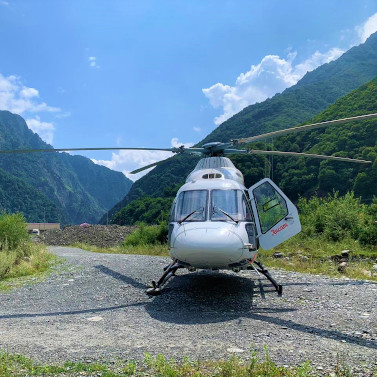 Санавиация выполнила 100 рейсов вРеспублике СевернаяОсетия-Алания
