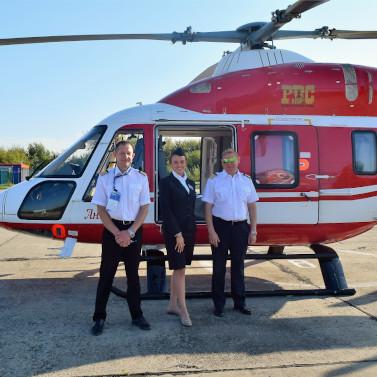 Heliexpress перевез 200 пассажиров наМАКС-2019