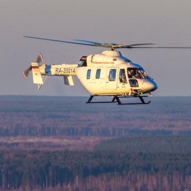 100 вылетов совершила санитарной авиация в Белгородской области