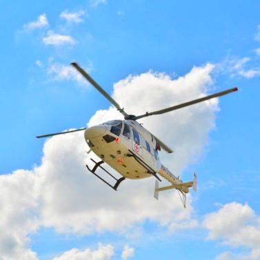 За два дня Подмосковная санитарная авиация трижды вылетала на помощь детям